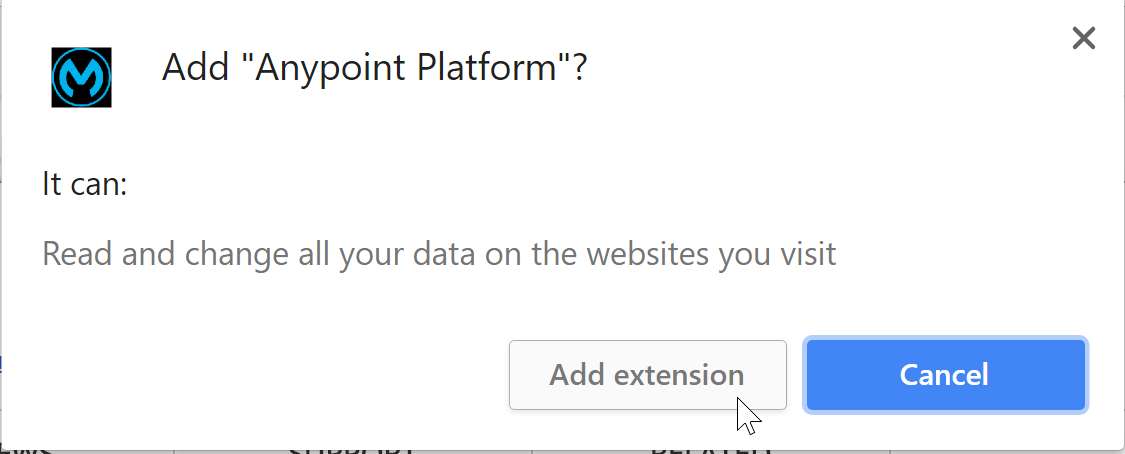 To Download and Install IZ Anypoint Chrome Extension :: Integral